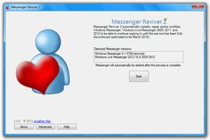 Continuare ad usare MSN con Messenger Reviver 2