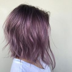 Violet Vibes. Color, cut and style by @jamiekeikohair  #hair #hairenvy #hairstyles #haircolor #violet #newandnow #inspiration #maneinterest