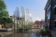 Bombay Sapphire Distillery This is a post for all you gin-sinners out there. Bombay Sapphire, the world's number one premium gin brand, recently opened the site of their new distillery in leafy. Studios Architecture, Amazing Architecture, Art And Architecture, Archdaily Mexico, Bombay Sapphire Gin, Thomas Heatherwick, Gin Distillery, Harper's Bazaar, Water Powers