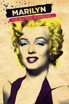 Marilyn Monroe - Paint - plakat - 61x91,5 cm  Gdzie kupić? www.eplakaty.pl