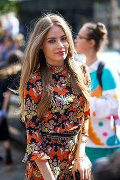 Best London Fashion Week Street Style Spring 2016 - London Street Style | Sup3rb