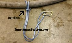 4 Valuable Uses for Firefighter Webbing Firefighter Tools, Firefighter Training, Scout Knots, Building On Fire, Fire Training, Fire Escape, Firefighting, Drills, Diy