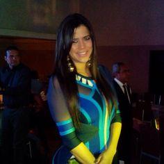 Mariangel Almao, anfitriona y presentadora de La Gala Retro.
