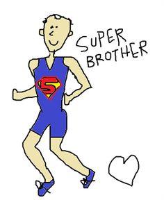 En todas las carreras hacemos hinchada por alguien especial, nuestro #superman - Personajes en un Ironman --> www.frieni.com