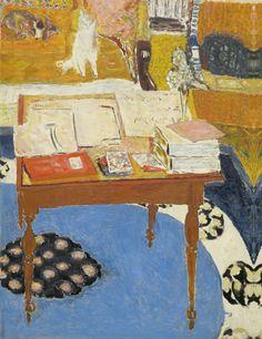 Pierre Bonnard (French, 1867-1947)   La Table de travail, 1926/1937  Courtesy National Gallery of Art, Washington, US