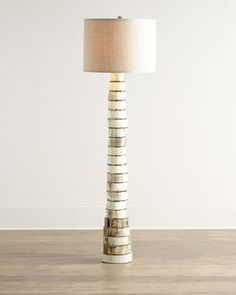 Stacked-Horn Floor Lamp by Jamie Young at Horchow.