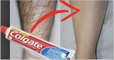 Mira cuales son los pasos a seguir para que puedas depilar todo cuerpo con tan solo usar la famosa crema dental que todos conocemos como Colgate