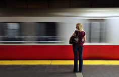 Waiting for the Red Line by Michal Cialowicz, #Boston