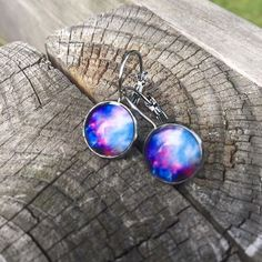 Feeling spacey today 🌎💫🌍🌟🌏☄ These are $10!! Comment to purchase 💗💗💗 #summer #jewelry #space #galaxy #jewelry #love #peace #universe #quiet