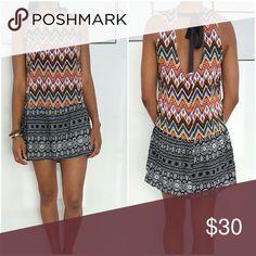 Multicolor Dress Aztec multicolor dress Dresses Mini
