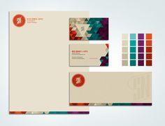 20 Creative Branding And Identity Designs For Your Inspiration - Hongkiat Self Branding, Branding Logo Design, Identity Design, Visual Identity, Brand Identity, Letterhead Design Inspiration, Graphic Design Inspiration, Design Ideas, Pet Logo
