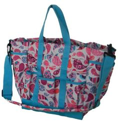 CAROLINA PAISLEY LARGE TOTE by Lami-Cell. $19.99. 2 Carry Straps. 8 outside pockets. 2 inside pockets. 600 Denier. Removable shoulder strap