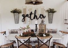 The word gather is perfect for your mantel, kitchen, living room, or on your porch or patio. Stained, painted or unfinished for a wonderful look. Unfinished is raw birch wood, you could display your items with the natural color or apply your own paint or stain. Please select