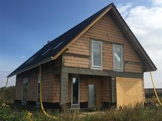 Projekt domu Dostępny 4A 139,6 m2 - koszt budowy - EXTRADOM Home Office Design, House Design, Facade House, Home Fashion, Contemporary, Modern, House Plans, Exterior, House Styles