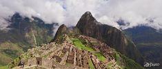 O turismo virtual em Machu Picchu, no Peru, oferece pontos de vista privilegiados. Foto: AirPano