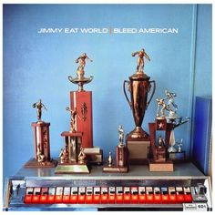 Jimmy Eat World – Bleed American (2001) |  This album actually holds a lot of meaning to me. I had one of my best memories of high school with this album.