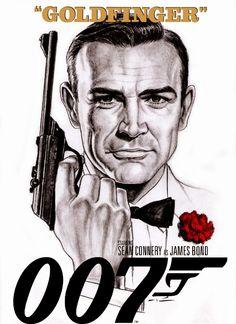 Goldfinger artwork by Patricio Carbajal.