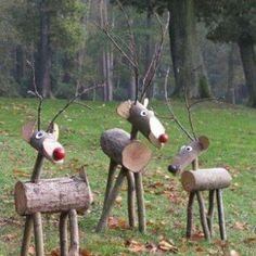 a7e51ff5448 38 mejores imágenes de Adornos navideños en madera