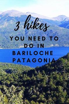 Get involved in some of the amazing hiking in Bariloche. Here are 3 insane day hikes you have to do before you leave. Bariloche day hikes / Bariloche travel / hiking in Bariloche / Things to do in Bariloche Argentina / Top things to do in Bariloche / Best things to do in Bariloche / San Carlos De Bariloche / what to do in Bariloche / Things to do in Bariloche Patagonia / Bariloche summer / Bariloche Argentina travel / Bariloche hiking