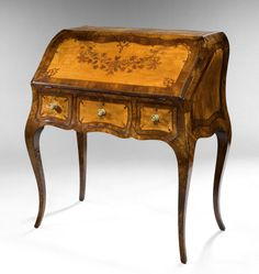 Early George III Bureau de Dame