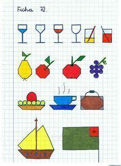 Baby Drawing, Drawing For Kids, Art For Kids, Graph Paper Drawings, Graph Paper Art, Blackwork, Bullet Journal For Beginners, Fall Preschool, Beading Patterns