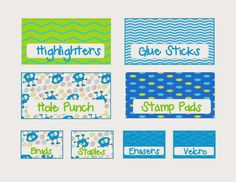 Monster Toolbox Labels and a Spelling FREEBIE
