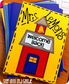 Step into 2nd Grade with Mrs. Lemons: New School Year