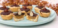 Chocolate and Dulce de Leche Tassie - Twix in a tart!