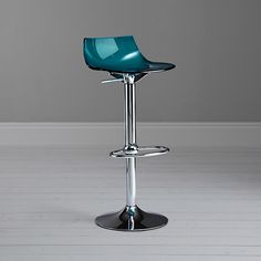Buy John Lewis Led Bar Stool, Blue Online at johnlewis.com