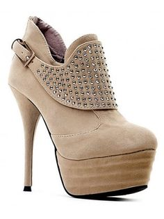 Stilletto Heel Studded Booties- Sexy!