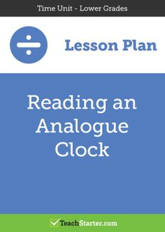 Reading an Analogue Clock
