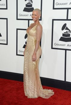 Amber Rose Best Dressed at the Grammys 2014