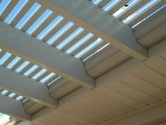 pergola, gutter and cover