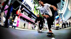 bombing the streets of Tokyo