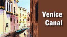 How to Paint a Venice Canal in Watercolour - Online Art Lessons Gouache Tutorial, Online Art Classes, Venice Canals, Acrylic Painting Lessons, Water Reflections, Gouache Painting, Learn To Paint, Art Techniques, Art Lessons