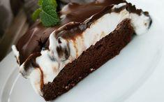 Mascarpone řezy s borůvkami LC - Jídelní plán Low Carb, Cake, Sweet, Desserts, Recipes, Food, Diet, Mascarpone, Kuchen