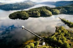 Pumphouse point Tasmania.