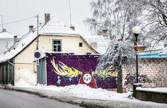 Artist: Maari Soekov | Community Post: 21 Awesome Street Art Pieces From Tartu, Estonia!?