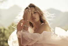 Allow your uniqueness to shine through – with Peekaboo, our jewellery collection for the modern, self-confident woman. Edita Vilkeviciute, Luxury Lifestyle Women, Party Fashion, Luxury Watches, Fine Jewelry, Jewellery, Stylists, White Dress, Girly