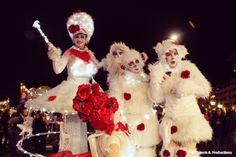 Christmas street entertainment in Monaco | Entertainment agency | Corporate entertainment
