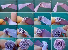 Цветы из бумаги своими руками может сделать даже новичок с поомщью…