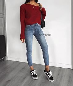 How to wear fall fashion outfits with casual style trends Mode Outfits, Jean Outfits, Trendy Outfits, Winter Outfits, Summer Outfits, Fashion Outfits, Look Fashion, Winter Fashion, 90s Fashion