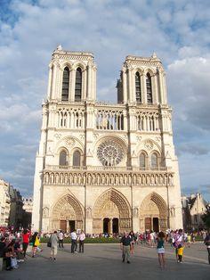 Paris - Catedral de Notre Damme