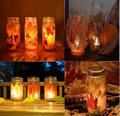 I love these for candles.