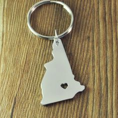 Youngate Keychain with 2 Key Rings Stainless Steel Key Ring For Men And Women