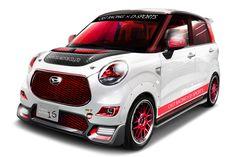 [画像]ダイハツ、「コペン セロ クーペ コンセプト」を東京オートサロン2016に出展 / キャスト スポーツ レース仕様などコンセプトカー6台を出展 - Car Watch