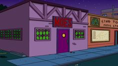 Moe's Tavern -  #TheSimpsons watering hole coming to #UniversalStudios Orlando in Spring 2013!