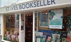 St Ives Bookseller has Salt Creek in its Top 5 Bestsellers Robot Restaurant, Visit Uk, Visit Tokyo, St Ives, My Happy Place, Saints, Bookstores, World, Gem