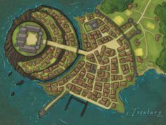 Aleria: Treuburg - Zidrons Capital by Tekila-onRice.deviantart.com on @DeviantArt