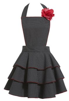 Flirty 50s apron, Someone buy me this!